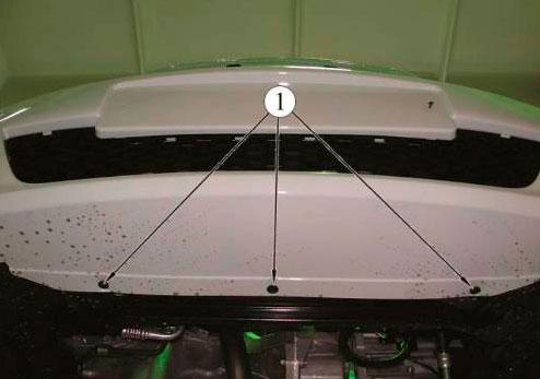 Как снять передний бампер на ларгусе