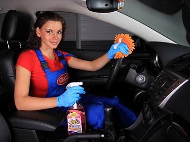 Устранение запахов в салоне автомобиля